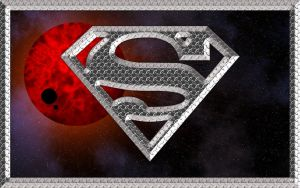 Superman Logo Wallpaper by SKerri13