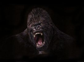 King Kong by ktalbot