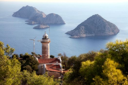 Gelidonya Lighthouse by bodrumsurf