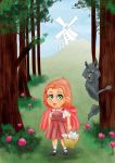 red ridding hood by zeroscore