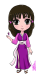 Chibi: Mizu Batafurai (The Last) by ElfyNightmare