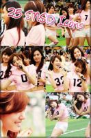 SNSD Icon Set by pandarellaaa