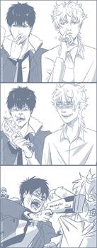 Ginhiji Psychopass request by arcanehalo