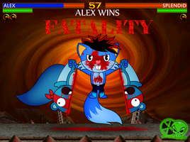 Htf Alex Vs Splendid (Fatality) by skull1045fox