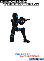 Character Concept  Counter Terrorism Pixel Art by Luckymarine577