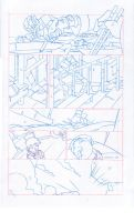 Bastion's 7 page 1 pencils by cheeks-74