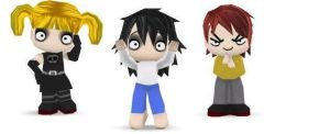 Death Note Buddypoke style by Guilfo