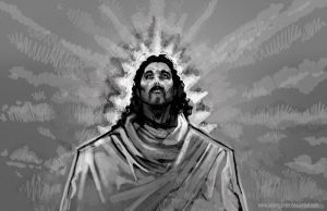 JESUS CHRIST by Mosspoint