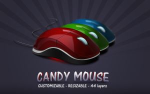 Candy Mouse | PSDs by abdelrahman