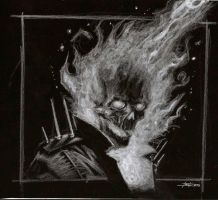 ghost rider black by LucaStrati