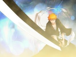 Ichigo Wallpaper by AgusholliD
