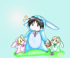 Easter for Ed, Roy, and al FMA by Roy-mustang-luver