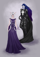 Commission: Elashalor and Elrohwen by Mimssi