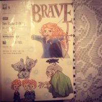 Brave by dedeartist