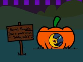 Nightmare Night Pumpkin?(GIF) by FlutterLuv