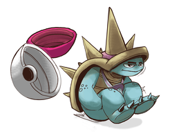 100 Days of LoL / Rammus by luckyde