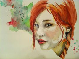 Red head by sarahstokes
