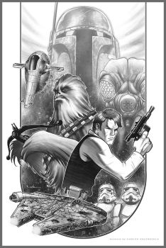 Han Solo - Space Pirate by Valzonline