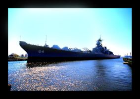 USS Wisconsin by Deliciaa
