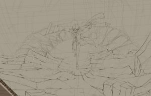 WIP introduction new character by Dewitrika