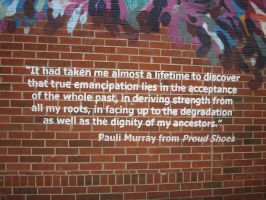 Pauli Murray Quote 1 by Rindelle