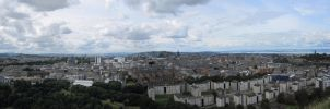 Edinburgh Panorama 2 by RobiSo