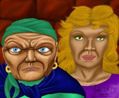 The Hag and Her Neice by JTPepper09