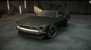 NFS the run ford mustang boss 302 by daz1200
