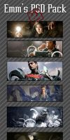 Emmortals PSD Pack 2 by GFXBB