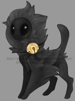 Black Cat Puff - Hallow Flatsale (CLOSED) by ForeverFrosty