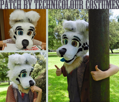 Patch Fursuit Head by TECHNlCOLOUR