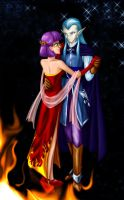 Mages' Dance: Fire and Stars by plangkye