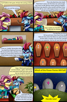 Comic: Heroes Never Stay Dead by pridark