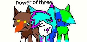 power of three by spottedstripe12