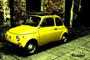 Fiat Cinquecento, Italy by RotWine