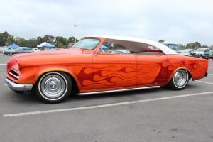 Flamed 54 Studebaker by DrivenByChaos