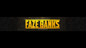 FaZe Banks Banner by OfficialRated