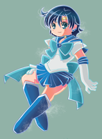 Sailor Mercury by Hadibou