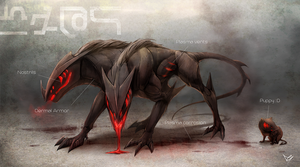 Hellhounds by DragginCat