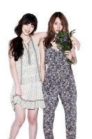 Sulli and Krystal [f(x)] png [render] by Sellscarol
