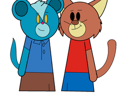 RQ - Sunil and Rigodon as Rick and Steve by Britishgirl2012