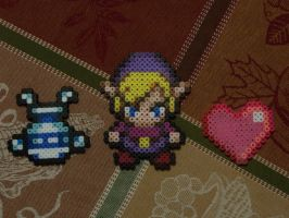 Hama Legend of Zelda by Shadowdreams891