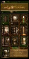 Secret Place backgrounds by moonchild-ljilja