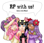 RP with the PW girls  by Sakurarmarie