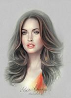 Pretty Face - Megan Fox by Amro0
