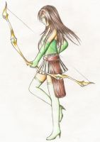 Archer Girl by TeraMaster