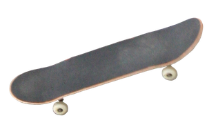 cut out Skateboard by SolStock