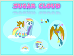 Sugar Cloud Reference Sheet by thearticwolf1
