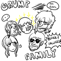 Grump family by JaxASDF