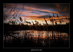 Abend am See - 01 by AndreasResch